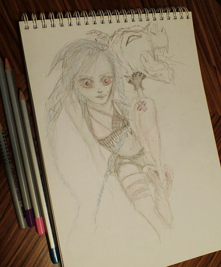 Jinx League of Legends drawing