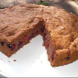 Рецепт: Пирог с вишней (без муки и масла) - все рецепты