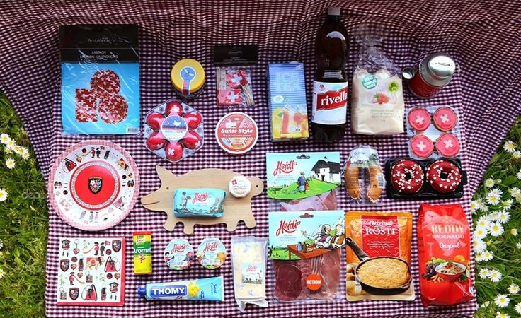 August 1 Swiss National Day - Migros Produkte