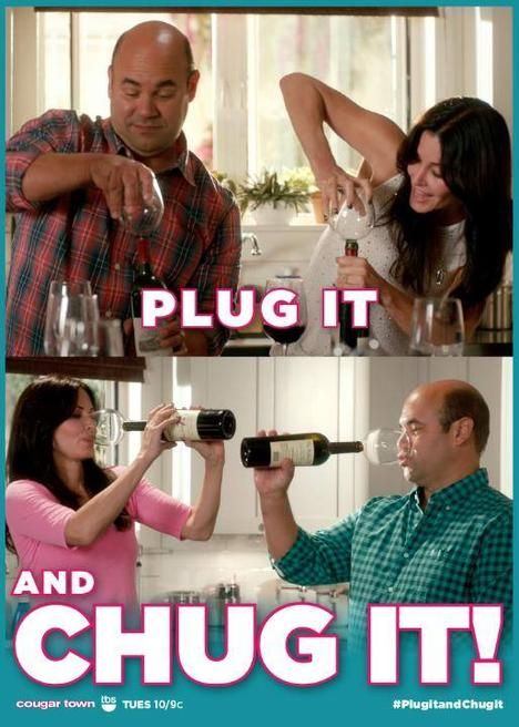 Guzzle Buddy!!! watch the clip from Cougar Town… it's hilarious :)