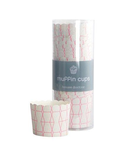 """Muffin Papierförmchen """"Pop Art"""" - House Doctor"""