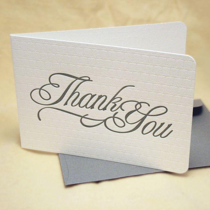 Thx Q card Thank You Greeting