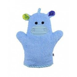 Zoocchini Bath Mitt - Henry the Hippo makes bath time fun! Can be used for washing up or for fun puppet play.