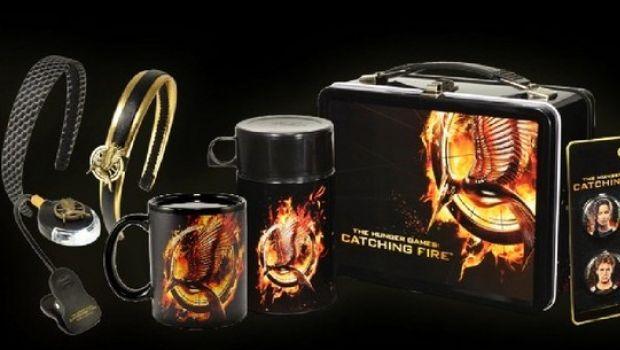 Hunger Games - La ragazza di fuoco: gadget e merchadise ufficiale del film