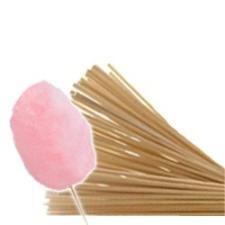 Bastoncini di legno per zucchero filato (5000 Pz)