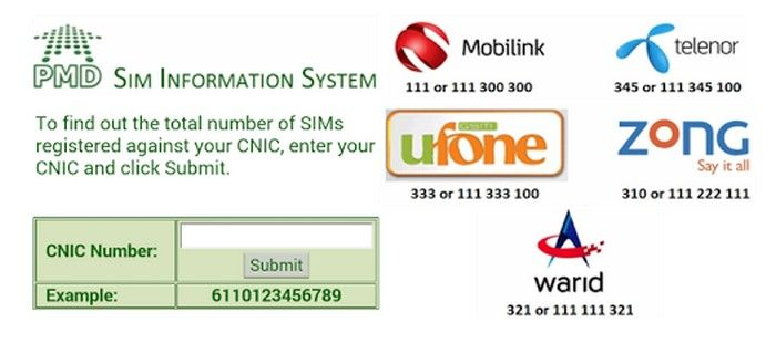Pakistan Sim Information APK Download - Free Communication
