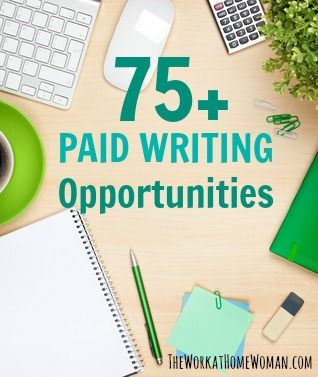 Would you like to work at home as a freelance writer? Here are some of the various types of writing gigs (blog posts, recipes, short stories, greeting cards, etc.) where to find them, and how much they pay. via The Work at Home Woman