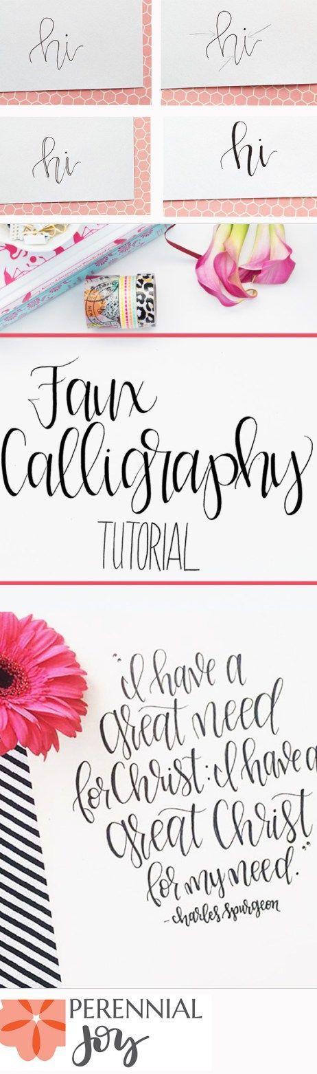 Se pinterests topplista med de 25 b sta id erna om modern Learn calligraphy letters