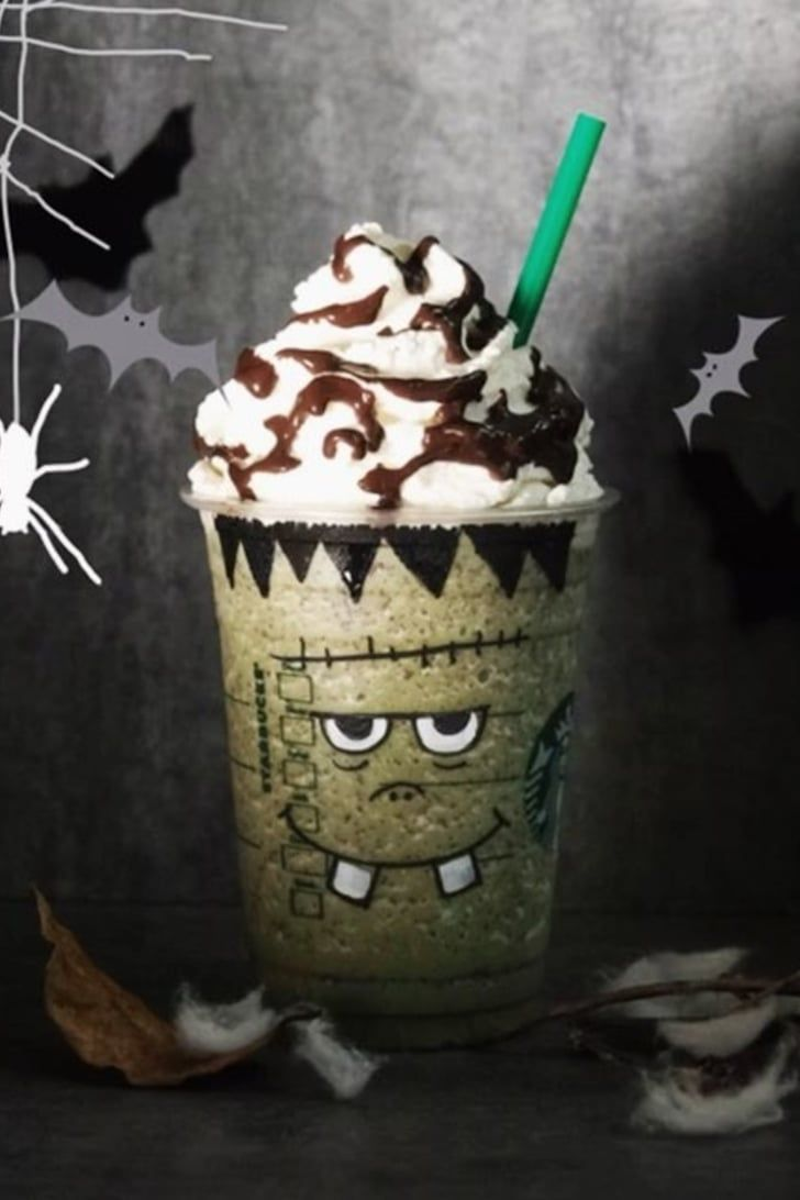 2020 Halloween Frapp Meet the Frankenstein Frapp: a Secret Halloween Drink You Can