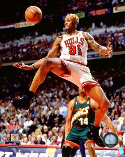 a6b3dd85269 Dennis Rodman Game 6 of the 1996 NBA Finals Photo Print (20 x 24 ...