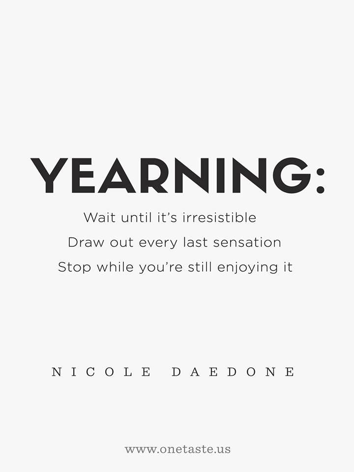 Nicole Daedone Quote