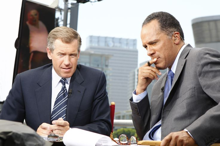 """Brian Williams ' departure from """"NBC Nightly News"""" draws a curtain on an era of almighty evening news anchors."""