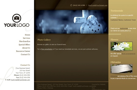 Impressive Web Design Available In 6 Color Themes. Comes Ready With SEO  Friendly Content U0026