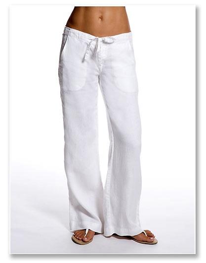 Feel Cool In A Crisp Pair Of Flowy Linen Pants We Just