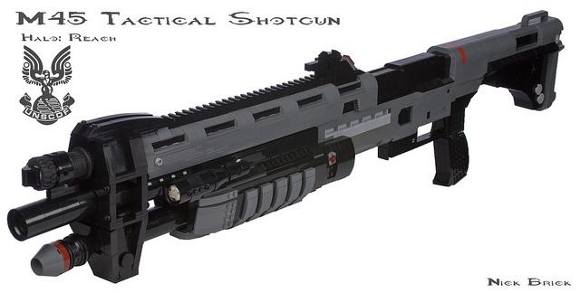 Halo Reach M45 Tactical Shotgun by Nick Brick, via Flickr