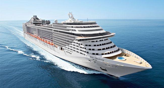 O MSC Preziosa é o navio mais novo da MSC Cruzeiros e estreará em águas brasileiras na temporada 2013/2014. O transatlântico oferecerá minicruzeiros e cruzeiros de 7 e 8 noites por praias maravilhosas.