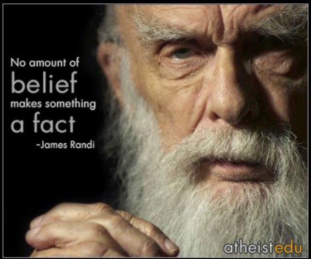Belief doesn't make it a fact