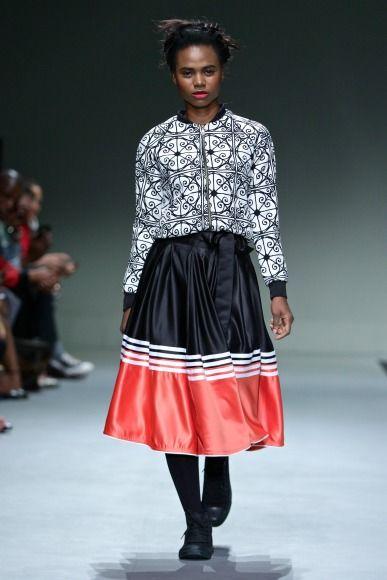Mantsho sa fashion week AW16