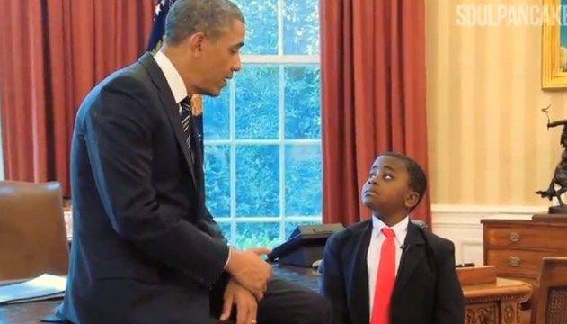 """Te lo dice El Niño Presidente: """"Creá algo que haga al mundo impresionante"""""""