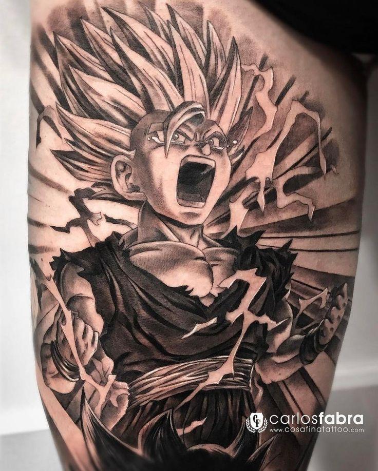 Gohan Tattoo Designs 9 best Dragonball Z - ...