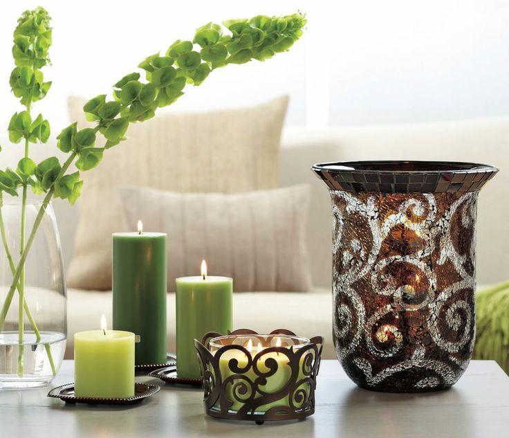 trio porte piliers tain porte pot bougie 3 m ches. Black Bedroom Furniture Sets. Home Design Ideas