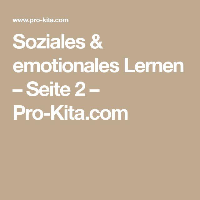 Soziales & emotionales Lernen – Seite 2 – Pro-Kita.com