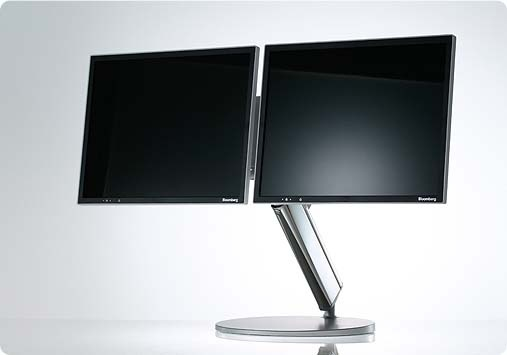 Bloomberg dual monitor multi monitors pinterest for Stand 2 b