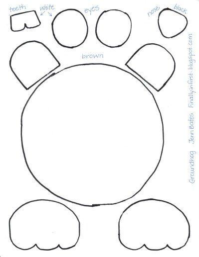 Groundhog | Scrapbooking Templates | Pinterest