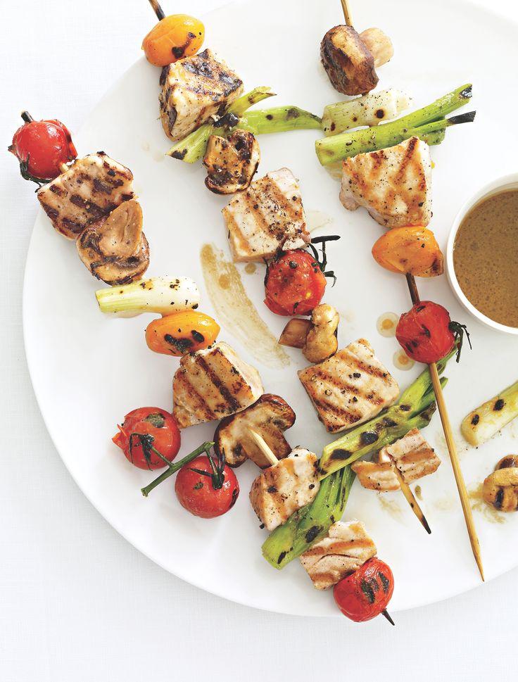 Tuna Kebabs HealthMonitor.com | Fishy, Fishy | Pinterest | Kebabs ...