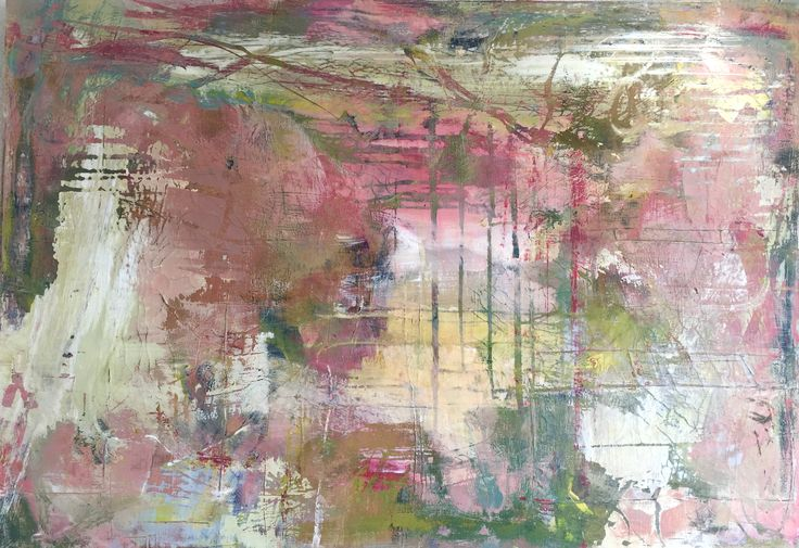 Erna Smit. Acryl painting