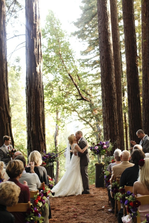 California Wedding in the Woods (click for more photos)