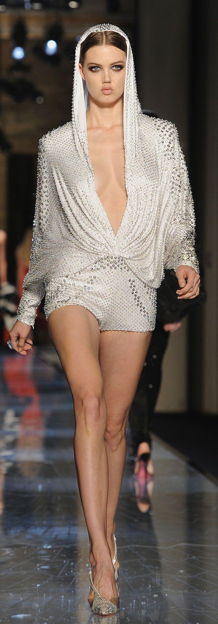 Atelier Versace's Spring 2014 ~ Cynthia Reccord