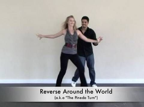 Salsa Dance Move : Around the World