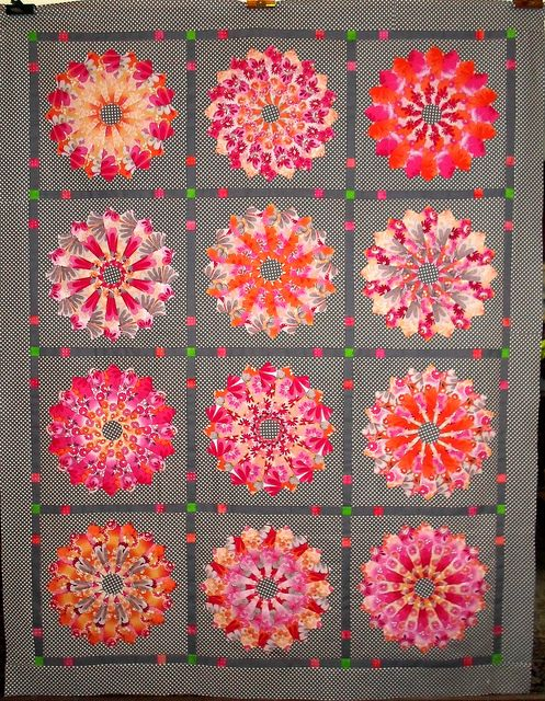 Went together quickly, since I'd finished the blocks last week :)  Pictures & comments in Piecing 2012 Set 1.