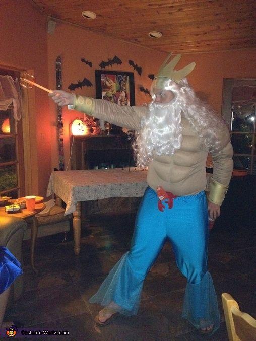 king triton costume | King Triton and the Little Mermaid - Couple Costume Idea - Photo 3/3