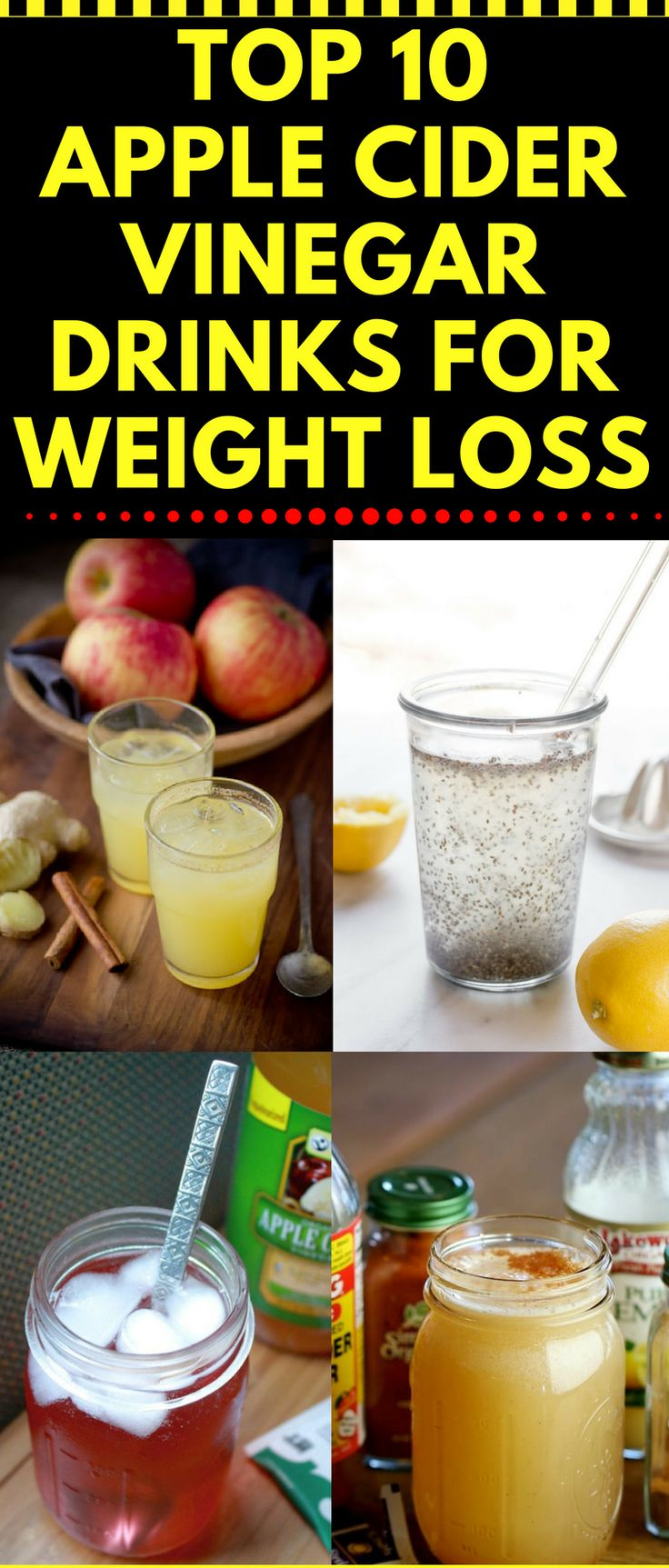 Top 10 Apple Cider Vinegar Recipes For Weight Loss