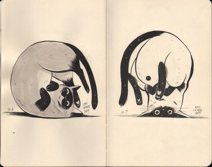 Cat Sketchbook (01)