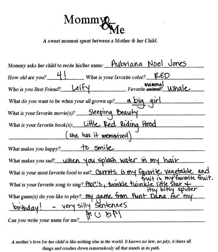 Birthday interview: do this each year and then make a book - cute idea for boy or girl