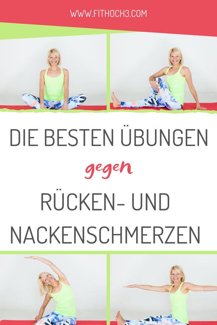 Erlöse Deinen Nacken und Rücken und befreie Dich…