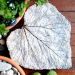 How to make concrete leaves http://tipnut.com/concret-leaves/ gardenmama.typepad.com