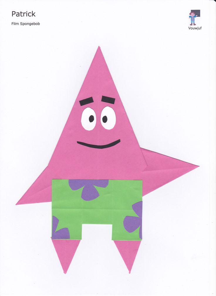 Patrick - 16 vierkantjes en vlieger