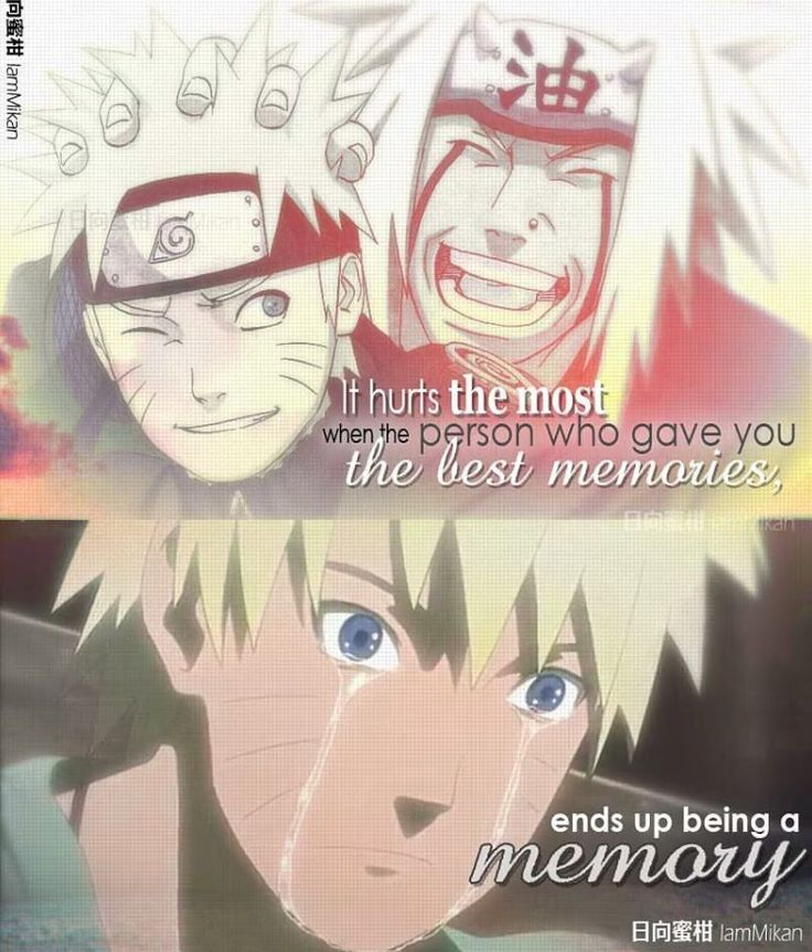 Naruto quote . I love this moment NarutoJiraya Jiraya