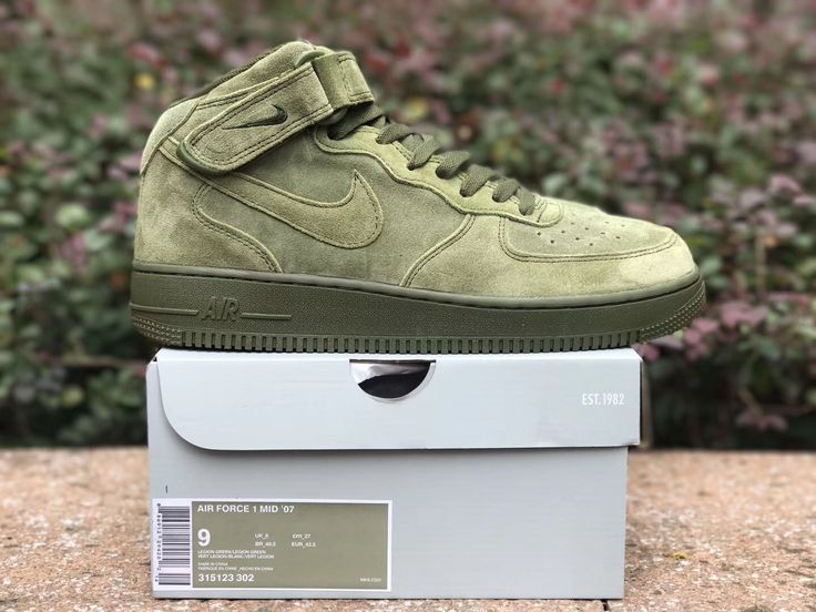 NIKE AIR FORCE 1 MID 07 LEGION GREEN 315123 302   #fashionblogger #ropa #family #resemblance #is #strong #brighton #happybirthday #sophie #wherestom #wearefamily #matchymatchy #ladiesfashion #ladiescode #ladiesfashionblog #blogger #dubai #mydubai #dubaistyle #dubaifashion #selfmade #girlsfashion #chokers #shortshorts #newcollection #summercolors #italianstyle #womensfashion #womenstyle #trending