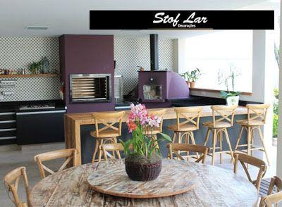 Stof Lar Decorações - Móveis em Madeira de Demolição : Ambiente: Mesa com Cadeiras Paris + Aparador com B...