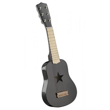 Wooden Toy Guitar (Black)
