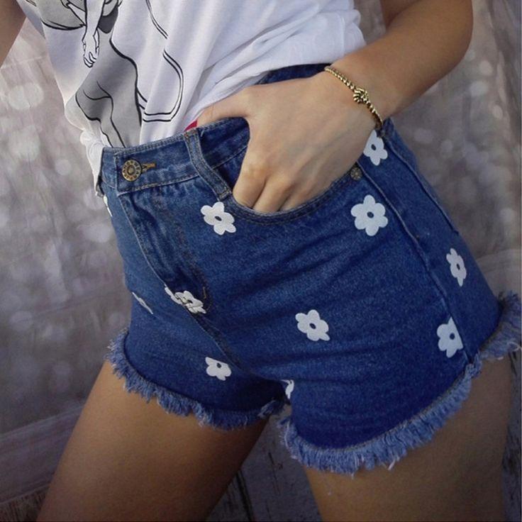 Фетиш jeans shorts