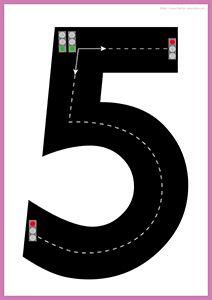 fiches-autoroute-chiffre-5-motricite-fine-pre-ecriture