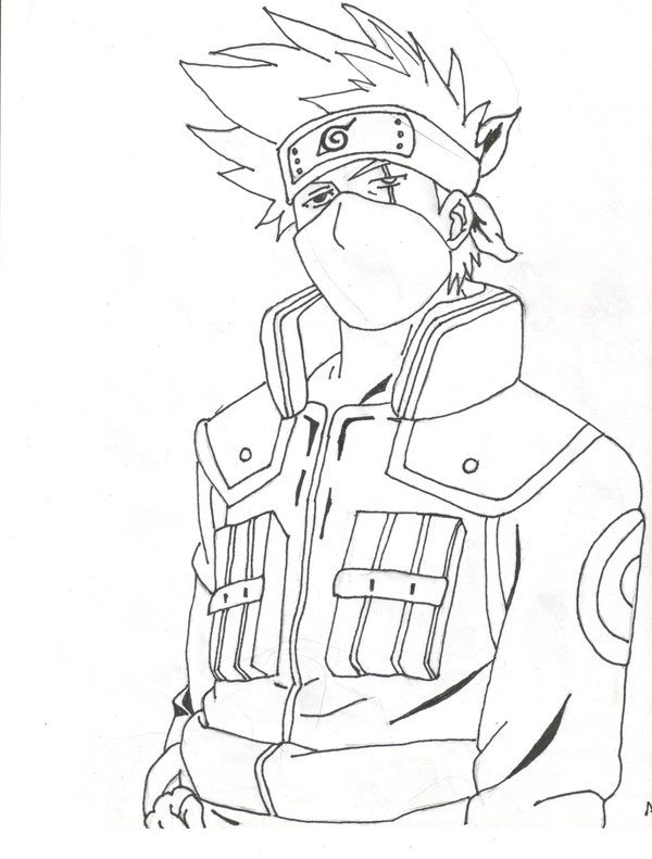 Kakashi Drawing Full Body Www Pixshark Com Images Kakashi