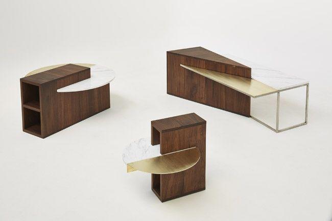"""Tavoli da caffè """"Algebra Series"""" http://www.differentdesign.it/tavoli-caffe-algebra-series/ Tavoli da #caffè dalla linea pulita e #geometrica, costruita su elementi diversi per forma e struttura, ricomposti in un disegno armonico..."""