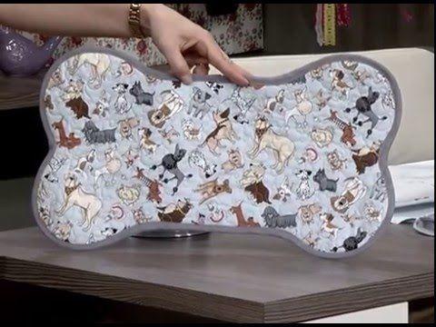 Tapete para cachorro com quilt - 11/05/16 - 2da parte - YouTube